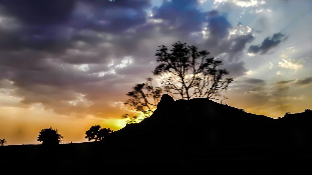Sunset Landscape Nature Light And Shadow Yudhvir Eyem Best Shots Traveling Clouds And Sky The Week On EyeEm