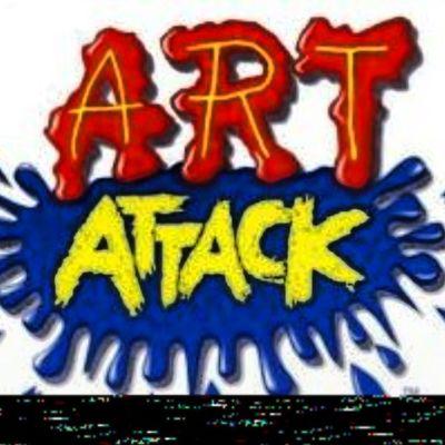 Artattack Mola Loechodemenos Domingo mañana infancia megusta red yelow blue