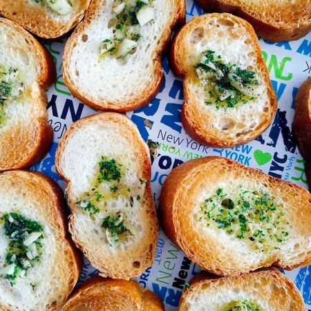 Food No People Garlic Bread Knoblibrot Essen