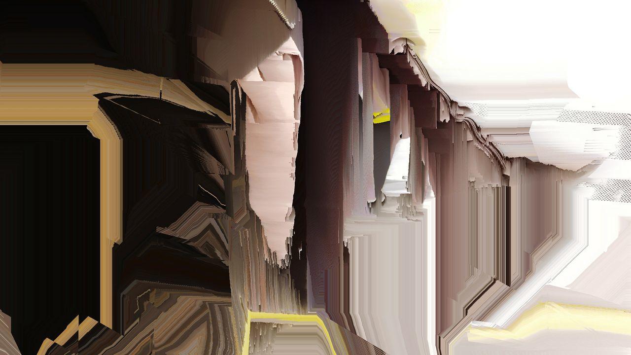 LOW ANGLE VIEW OF BUILDING SEEN THROUGH OPEN DOOR