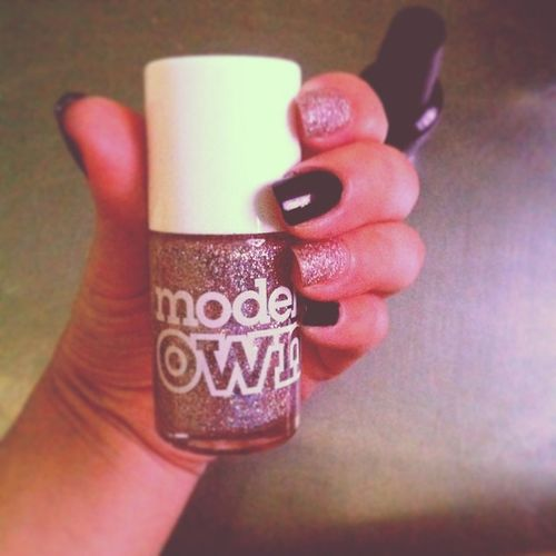 Nail Modelsown Np143 girls fashion makeup northernlights pink shiny
