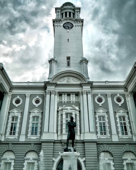 Taking Photos Victoria Concert Hall Colonial Architecture Colonial Building Arts And Culture Clock Tower Civc District Sg Showcase: April