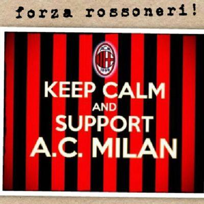 No matter what happens, Milan will always in my heart. Forzaaa..:D @acmilan Forzamilan