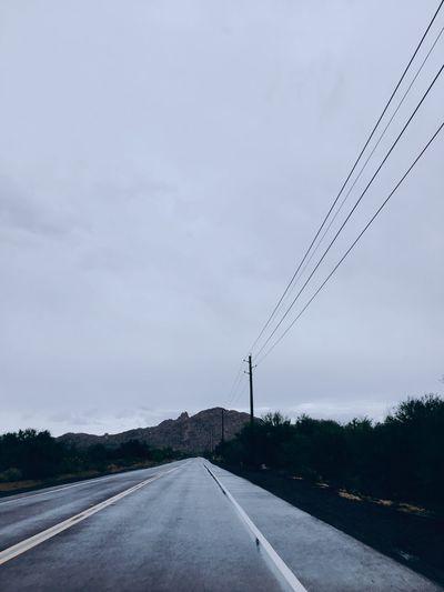 Road Outdoors Arizona