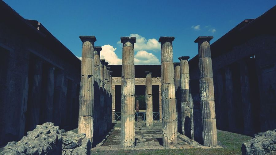 Pompéi Architecture