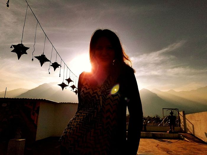 Christmas day in Santiago, Mexico Santiago Mexico Sierras Mountains Lense Flare Sillouette Mexican Girl My Wife Beautiful Girl Beautiful Woman Christmastime Piñata Sky My Best Travel Photo Great Outdoors Misty Mountains  My Love❤ Men Sunset Silhouette Sky Cloud - Sky