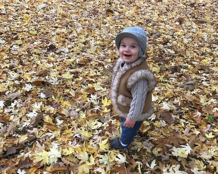Autumn Colors Autumn🍁🍁🍁 Autum2016 Gods Creation Godchild 😊 Blessed  Beautiful Nature Nature On Your Doorstep Autum Walks Knit Hat Fur Jacket Autumn Leaf Full Length Change Portrait Nature Looking At Camera Childhood Lifestyles One Person Real People Day Tree Outdoors Beauty In Nature Close-up People