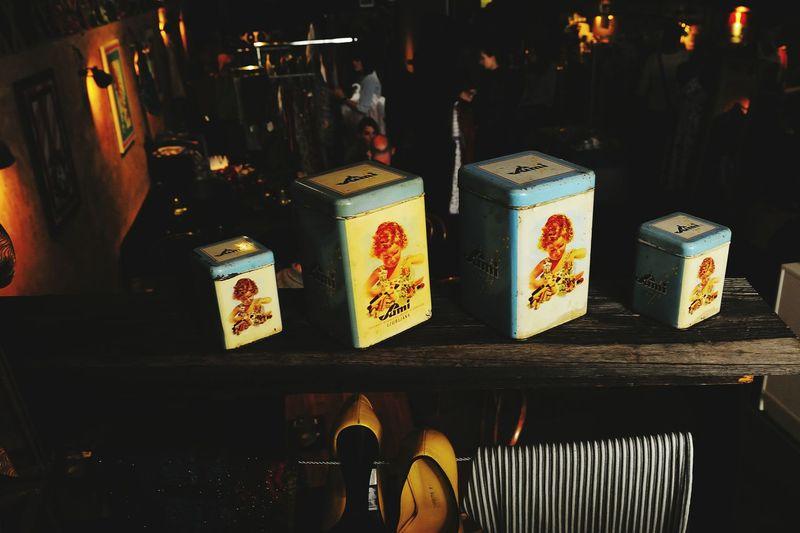 Illuminated Indoors  Retail  Vintage Stuff Vintage Caine Old Sugarcane Plantation Memories ❤ Pub