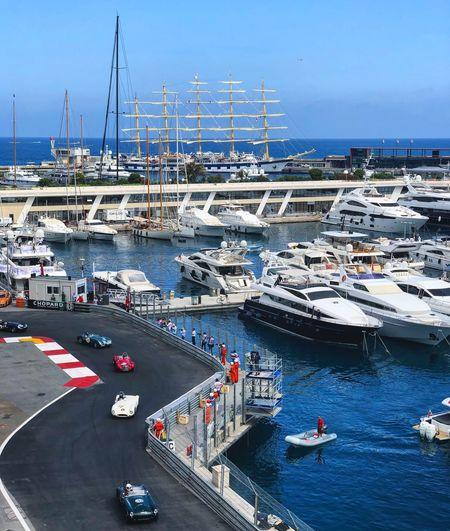 Chopard Formula 1 Transportation Water Mode Of Transportation Nautical Vessel High Angle View Sea Nature