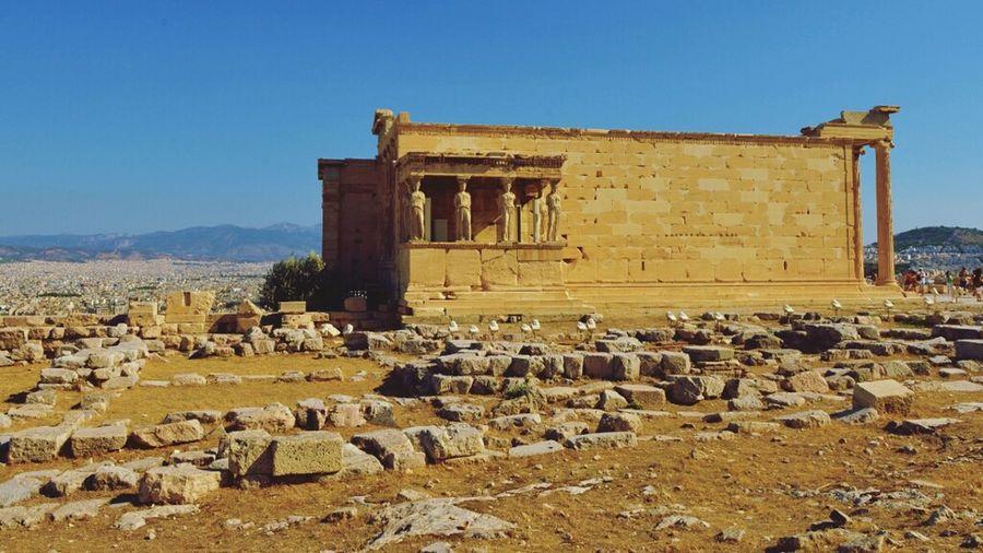 Erechtheion In Ancient Greece Acropolis
