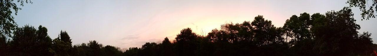 Colorful Sky No People Evening Sky Dusk Panoramic View Panoramic Photography Pamoramic Sunset Dodge Moparfam Dodgedart Mopar_or_no_car Mopar Dodge Dart Nature