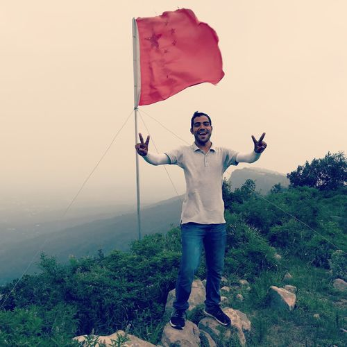 Casual Clothing Sky Nature Mountain Hiking Mountain View Mountains And Valleys Mountain Climbing Mountain Top Happiness