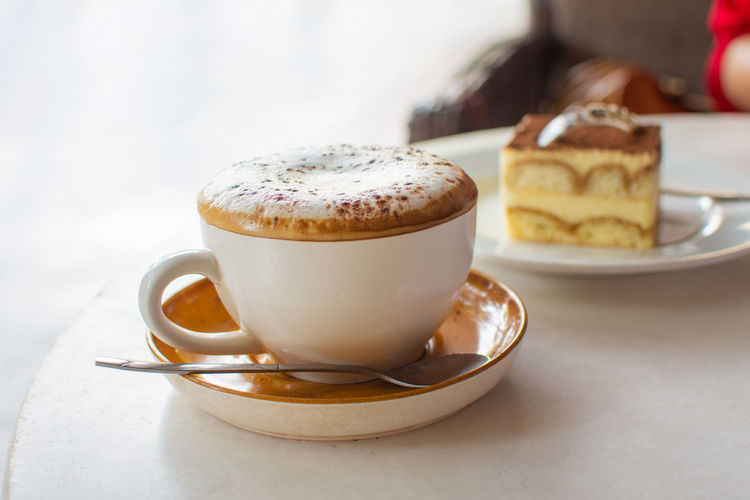 Food And Drink Coffee Cup Mug Coffee Coffee - Drink Cup Saucer Still Life Drink Table Close-up Focus On Foreground Freshness Frothy Drink Crockery Food Refreshment Hot Drink Cappuccino Spoon No People Temptation Latte Tea Cup The Foodie - 2019 EyeEm Awards