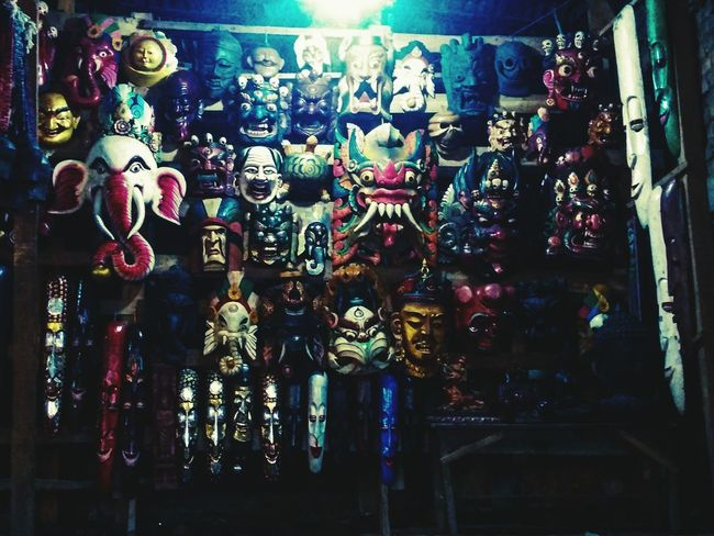 Nepal Backpackerstrip Masks Awesometrip