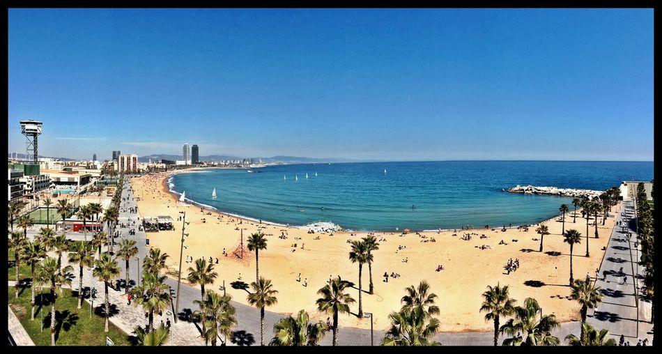 Last Day Of Work Desigual Terrace Enjoying The View Panoramic Fun & Profit La Vida Es Chula Barceloneta