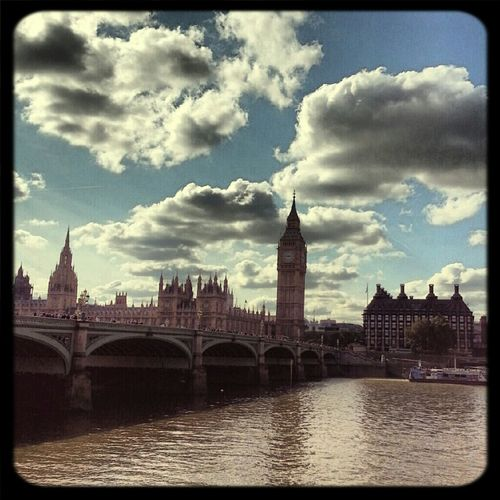 The City Big Ben Clouds And Sky Cloudporn River Thames Eye4photography  House Of Parliment