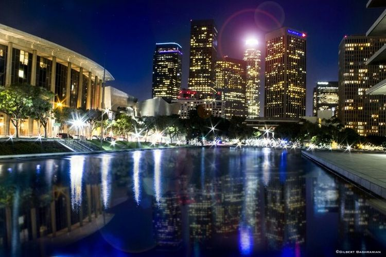Cityscapes Downtown Los Angeles. NIGHT CITY Investing In Quality Of Life