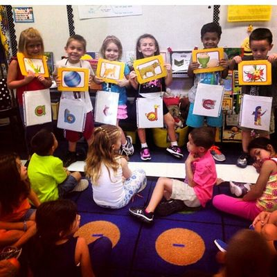 My babygirl in class. Soproud Proudmother Mybaby Iloveher MyWorld BusyBeeClass