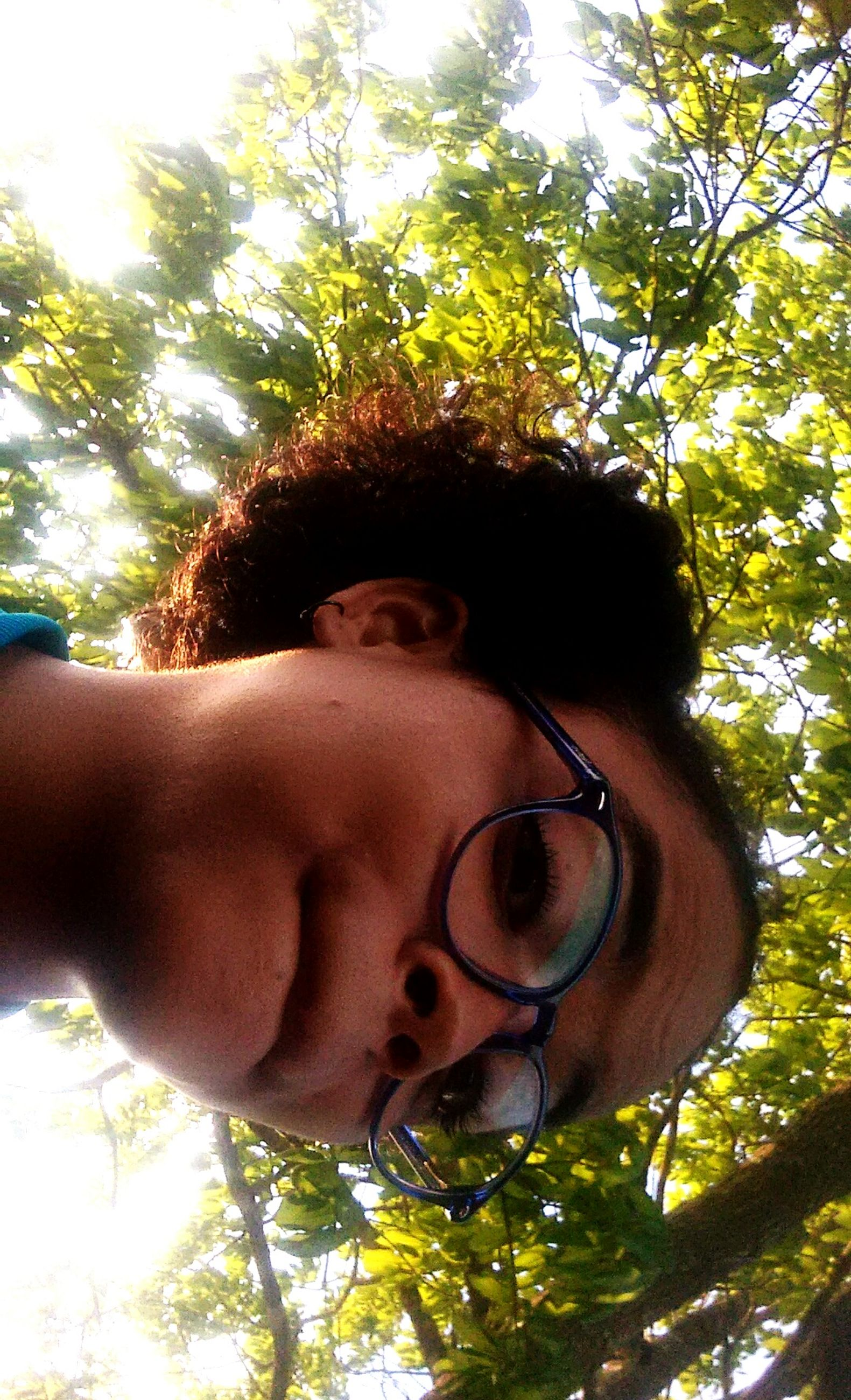 tree, one person, headshot, young adult, plant, outdoors, day, real people, nature, close-up, people