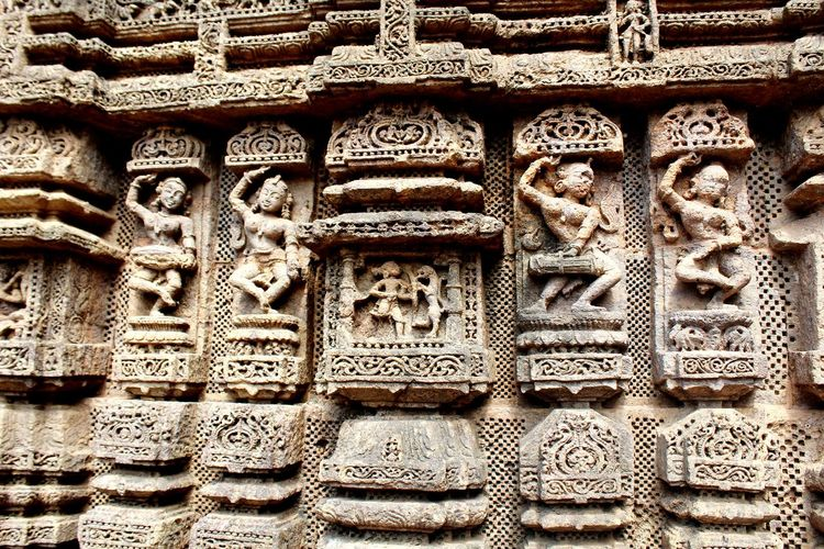 Travel Photography Enjoying Life India 1000s Years Old Hindutemples Sun Temple Konark, Orissa Stone Sculptures ArtWork Old Sculpture