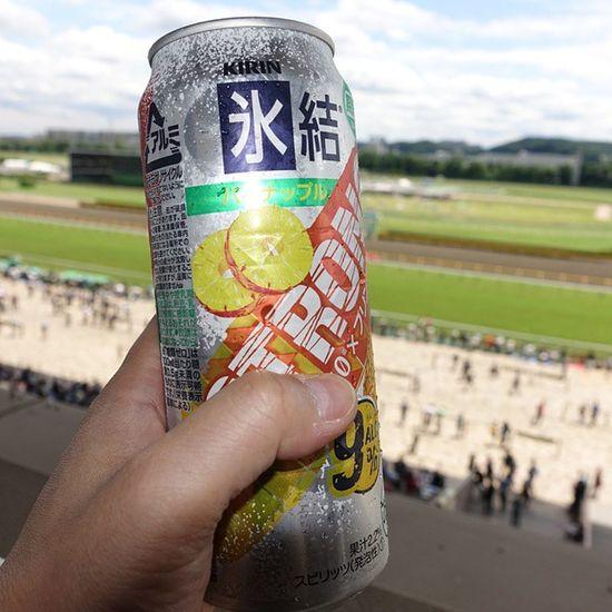 お馬ちゃんにカンパイ♪ Drinking チューハイ JRA 競馬