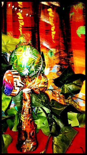 M.A.O ART × KENDAMA 【nature】 Kendama Art ArtWork Maoart Nature Paint