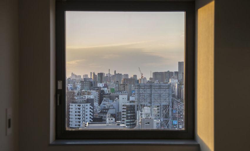 Architecture Building Exterior City Cityscape Japan Modern No People Skyscraper Tokyo View Window