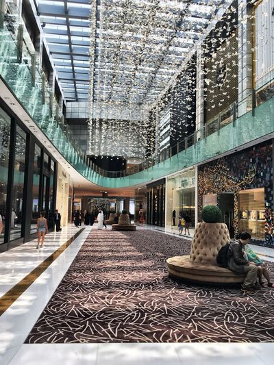 Art Is Everywhere Indoors  Built Structure Architecture Store Day Modern No People Traveling Dubai Photography Photooftheday Travel Photography Travel Destinations Building Exterior Architecture Shopping Mall Mall Art