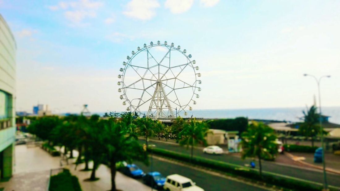 @ SM Mall of Asia Ferriswheel Xperiashot Rides Circles Cityscape City City View  Manila My City Discover Your City