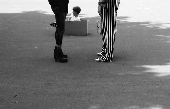 Point of view...or stripes of view... Urban Playground Forms And Shapes Street Photography Playtime Getting Inspired Low Section Body Part Human Leg Human Body Part Real People One Person Lifestyles Standing Day Leisure Activity City #urbanana: The Urban Playground