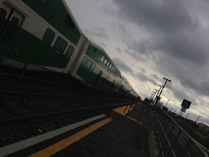 Travelling Train Go Transit