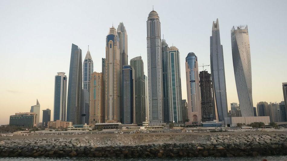 Skyscraper Architecture Urban Skyline City Sky Modern Cityscape Built Structure Business Finance And Industry Outdoors Building Exterior Sunset No People Day Dubai Marina Dubai Downtown Dubai Skyline Jumera Beach Dhowcruise