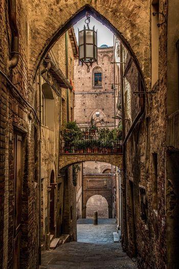 Siena, Italy Architecture Built Structure Arch No People Building Exterior Outdoors Architecture Cityscape Travel Destinations UNESCO World Heritage Site Tourism