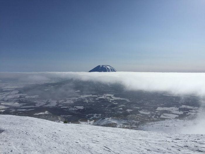 Cloud Day Japan Japow Landscape Mountain Nature Outdoors Scenics Ski Hill Skiing Sky Snow Snowboarding Sunny Winter Yotei