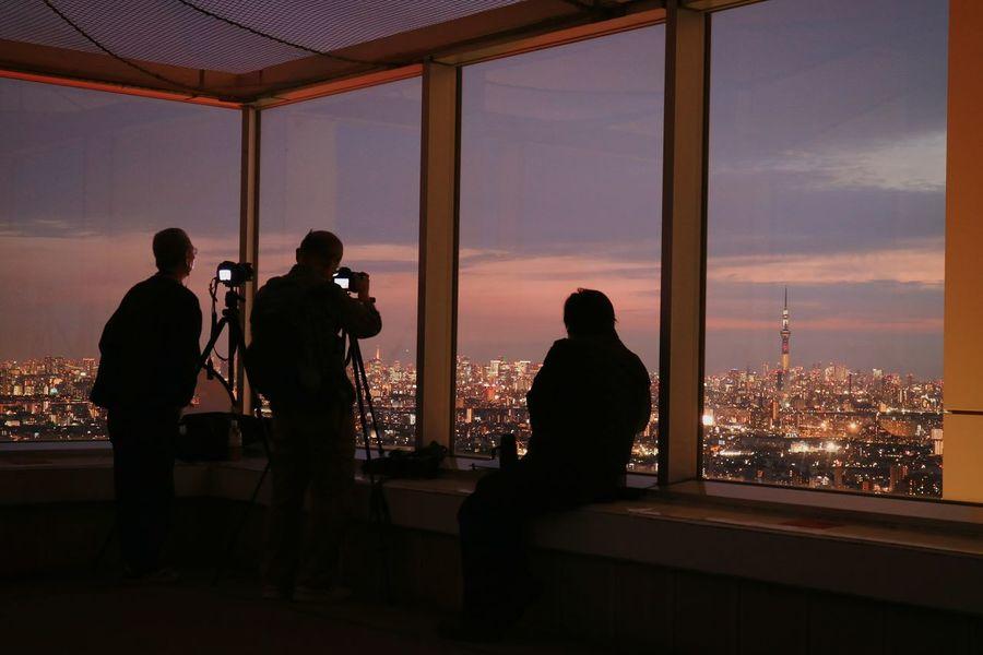 Peaple Photographer Sunset Sunsets Nightphotography Nightview Sky Skyporn Cloud Cloudporn Skytree Tokyoskytree Tower Cityscape Japan
