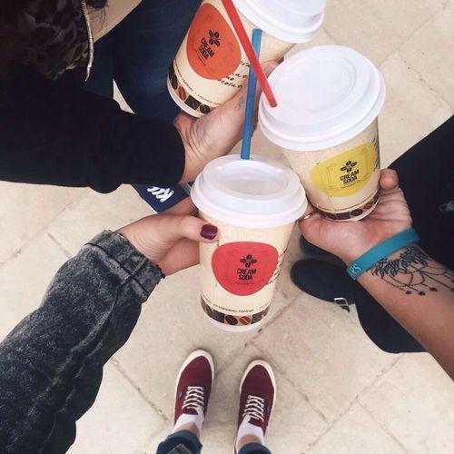 We always drink coffee ☕️💕
