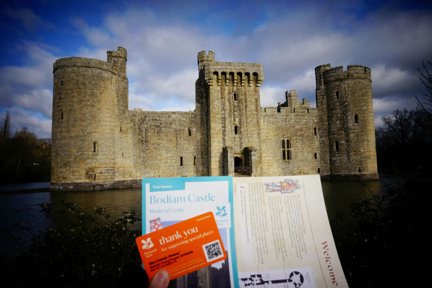 My day trip at a medieval castle Ancient Architecture Bodiam Castle Building Building Exterior Built Structure Castle History Medieval Medieval Architecture Old Old Ruin Ruined The Past