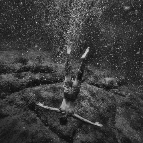 Monochrome Photography Motion Snowing Water Splashing Spraying Person Fun Tranquility Day Outdoors Dirty Messy Tranquil Scene