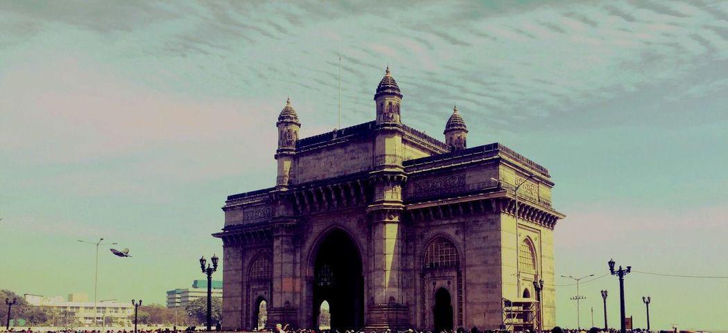 Gatewayofindia Colaba Mumbai India Walking Around Historical Building Peace ✌ 26/11/2008 #mumbai Attach Rip Victory Over Evil
