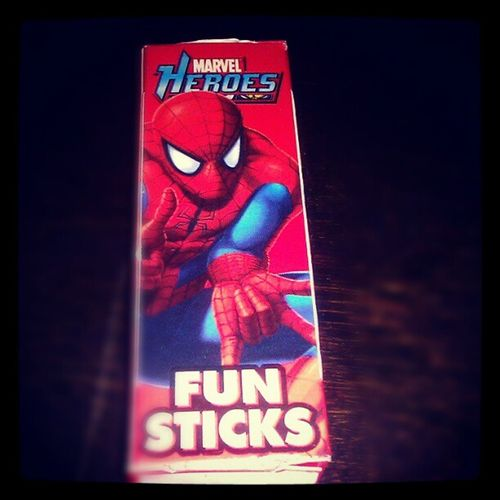 I got your fun sticks!