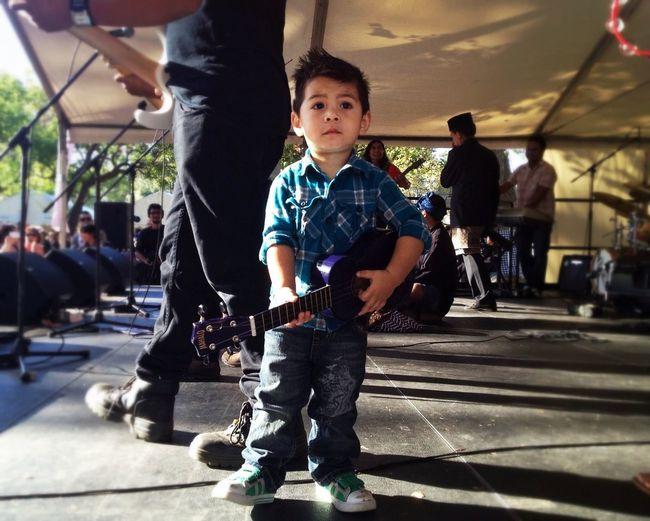 Toddler Rocker - Indofest 2013. Image taken with iP4S + Procamera. Snapseed edit. Documentary WeAreJuxt.com Shootermag AMPt_community