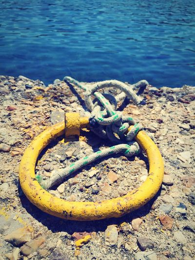 Marine Photography Marine Detail Detail Yellow Summer Holidays Greece
