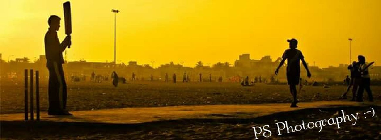 Street Cricket @Elliot's Beach PS Photography Taking Photos Besant Nagar My Photography. ❤ Edition Making A Difference Life Looking Into The Future