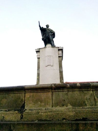 intramuros escapade Sculpture Statue Low Angle View Human Representation Monument History Sky Outdoors Local Landmark Stone Material Intramuros,manila Philippines Asusphotography Been There. Done That. Lost In The Landscape