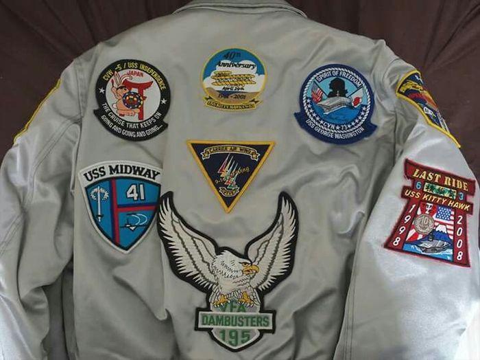History of aircraft carriers in Yokosuka Japan. My flight jacket!! お気に入りのフライトジャケット。横須賀を母港にした歴代空母のパッチ( ̄▽ ̄) Fashion Military EyeEm Best Shots Japan Naf ~カメログまたここで~ Photography Cvw-5