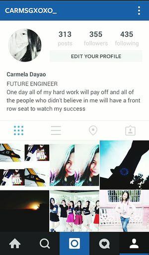 Please follow me on instagram @carmsgxoxo_ Thank you :>