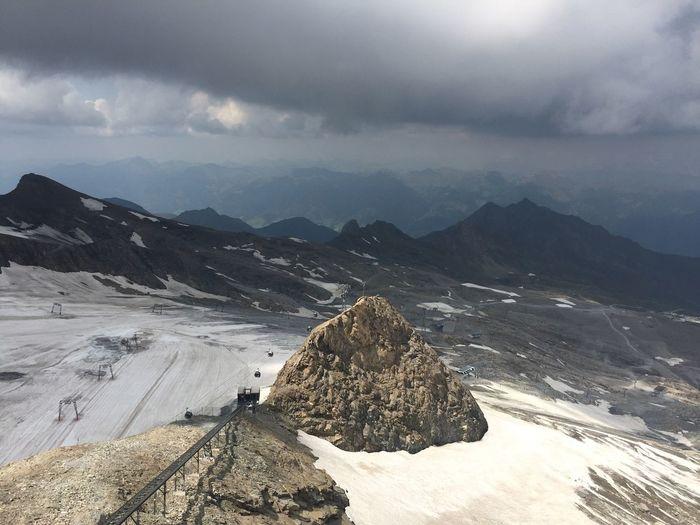 Kitzsteinhorn Kitzsteinhorn Cloud - Sky Sky Mountain Scenics - Nature Beauty In Nature Mountain Range Tranquil Scene