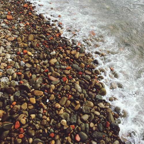 Sea Nature Beach Day Outdoors Stone Beauty In Nature