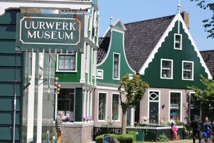 Zaanse Schans Dutch History Historical Building Architecture No Filter Monument Eyemphotography Outdoors Day Sunlight