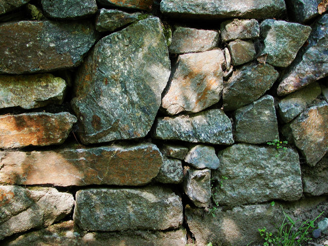 Architecture Backgrounds Close-up Concrete Day Full Frame Large Group Of Objects Nature No People Outdoors Rock Rock - Object Rough Solid Stone Stone - Object Stone Material Stone Wall Textured  Toughness Wall Wall - Building Feature